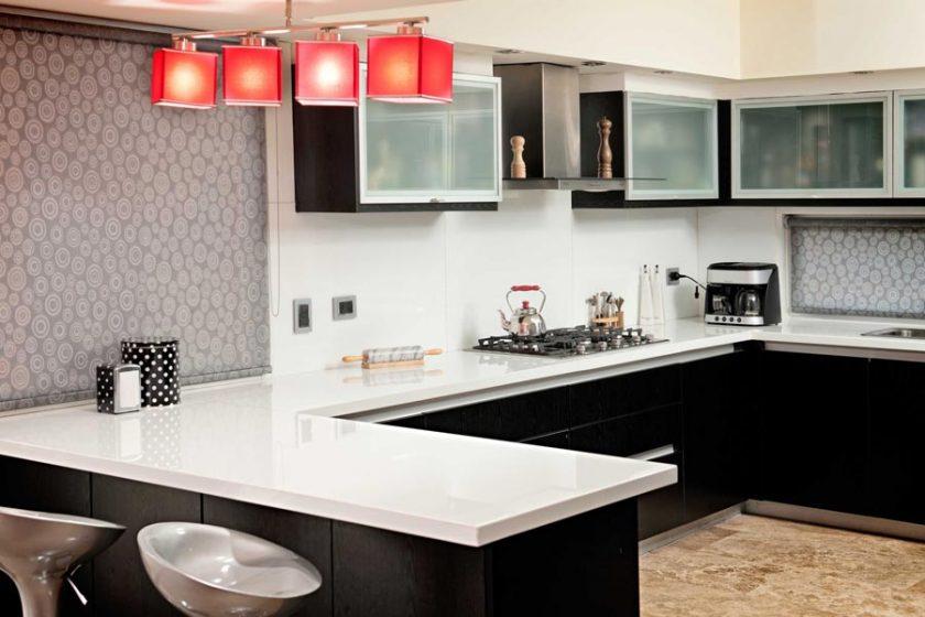 Cocinas bachas mesadas for Granitos nacionales para cocinas